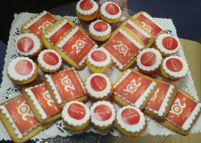 Sablés et cupcakes Aubay