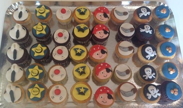 Cupcakes Police et Pirate