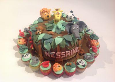 Gâteau Explorateurs