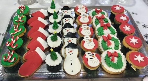 Cupcakes et sablés Noël