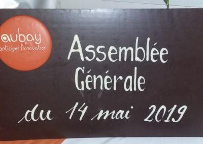 Plaque Aubay