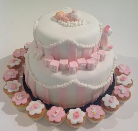 Gâteau naissance-baptême